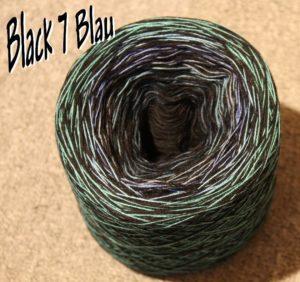Black 7 Blau